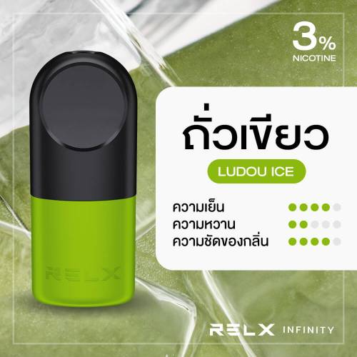 RELX Infinity Pod Flavor Ludou Ice Mung Bean
