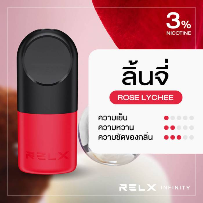 RELX Infinity Pod Flavor Rose Lychee