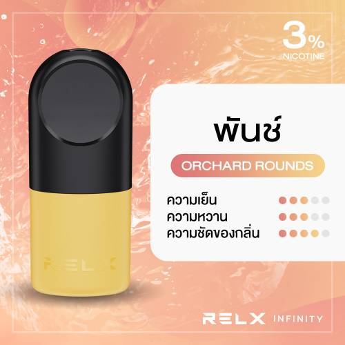 RELX Infinity Pod Pro Orchard Rounds